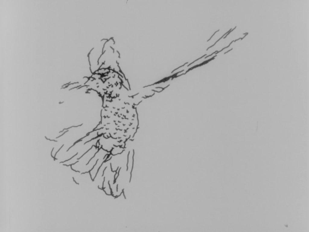 Chuck Csuri,  Hummingbird 1968